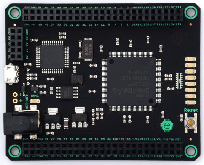 Mojo FPGA dev board